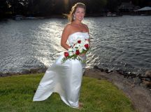 Bridal Photos on The Pointe | Charlotte Wedding Photographers