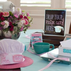 Kitchen Bridal Shower 2 Seater Table Themed Ideas Themes