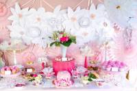 Pink and White High Tea Bridal Shower - Bridal Shower ...