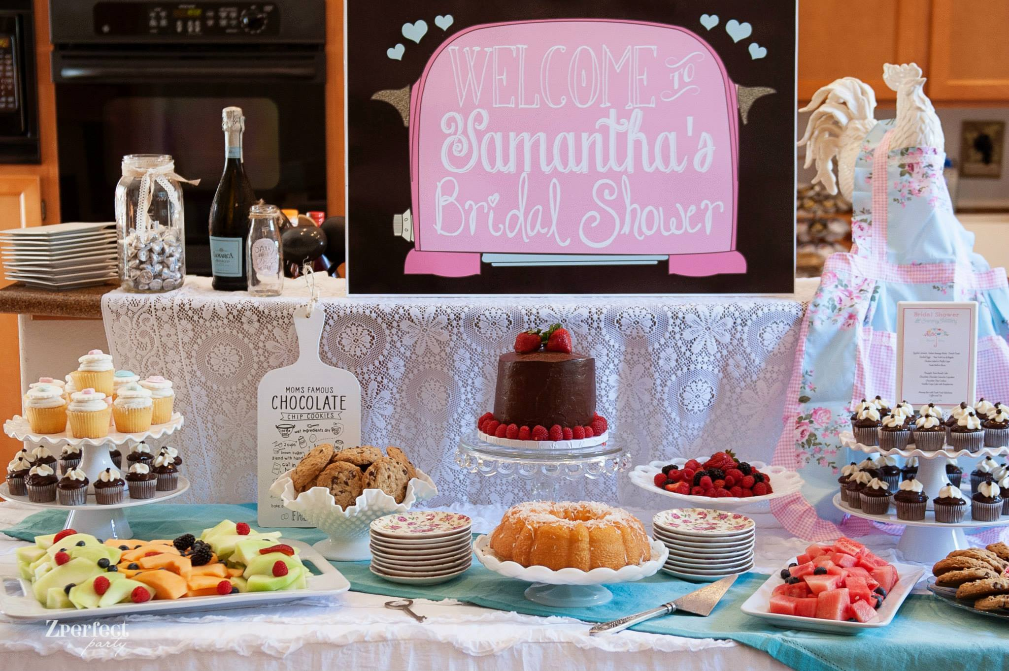 Cooking Themed Bridal Shower