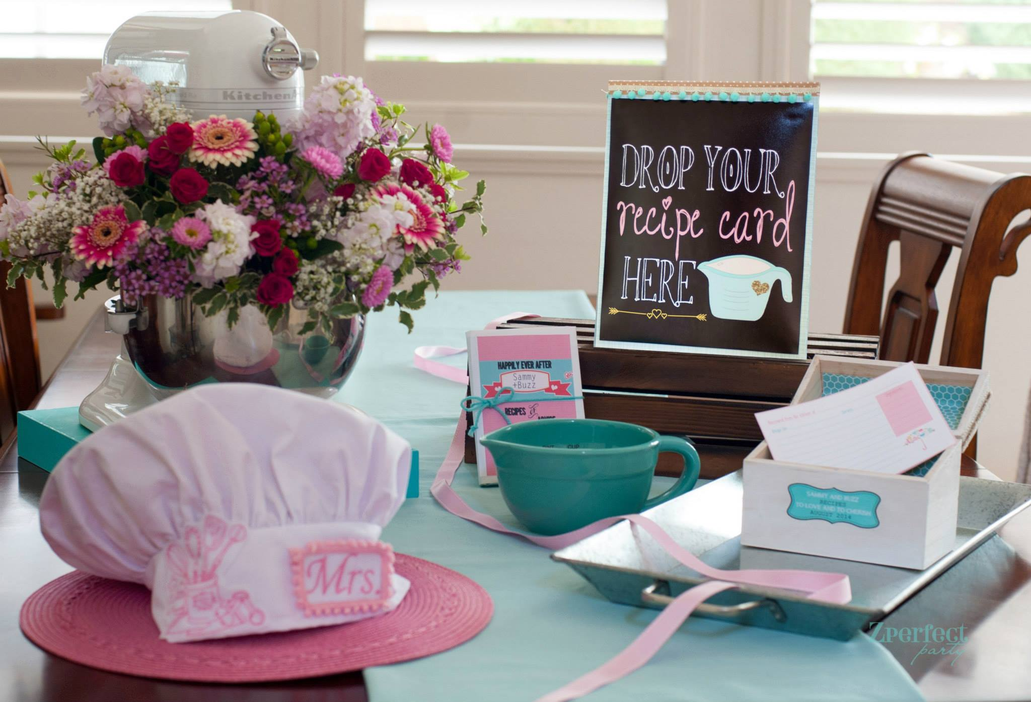 kitchen themed bridal shower used cabinet doors cooking ideas themes