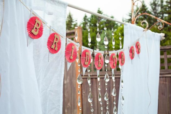 Vintage Modern Bridal Shower  Bridal Shower Ideas  Themes