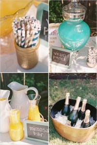 Elegant Outdoor Couple Bridal Shower - Bridal Shower Ideas ...