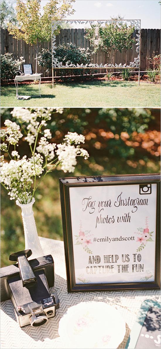Elegant Outdoor Couple Bridal Shower  Bridal Shower Ideas  Themes