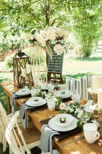 Outdoor Cowgirl Bridal Shower - Bridal Shower Ideas - Themes