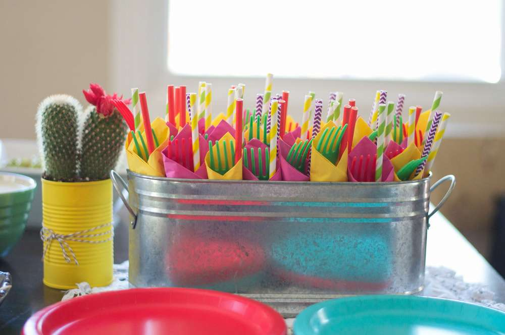 Colorful Fiesta Bridal Shower Bridal Shower Ideas Themes