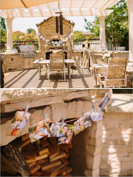 Elegant Vintage Backyard Bridal Shower - Bridal Shower ... on Elegant Backyard Ideas id=36631