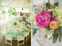 Mint And Peach Vintage Bridal Shower - Bridal Shower Ideas ...