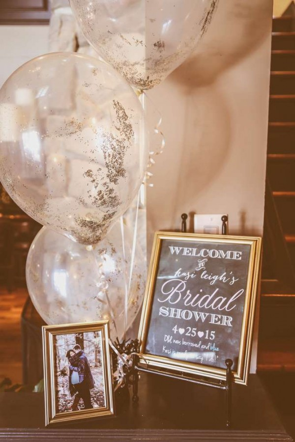 Sophisticated Kate Spade Inspired Bridal Shower Bridal