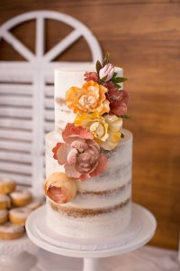 Modern Elegant Pink And Blue Shower - Bridal Shower Ideas ...