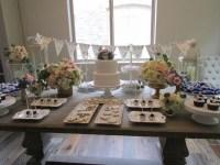 Elegant Floral Outdoor Bridal Shower - Bridal Shower Ideas ...