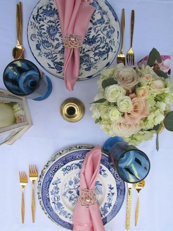 Elegant Floral Outdoor Bridal Shower Bridal Shower Ideas