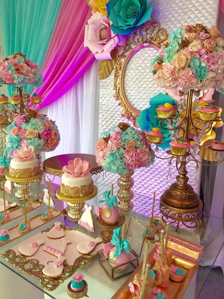 Pretty In Pastel Bridal Shower - Bridal Shower Ideas - Themes