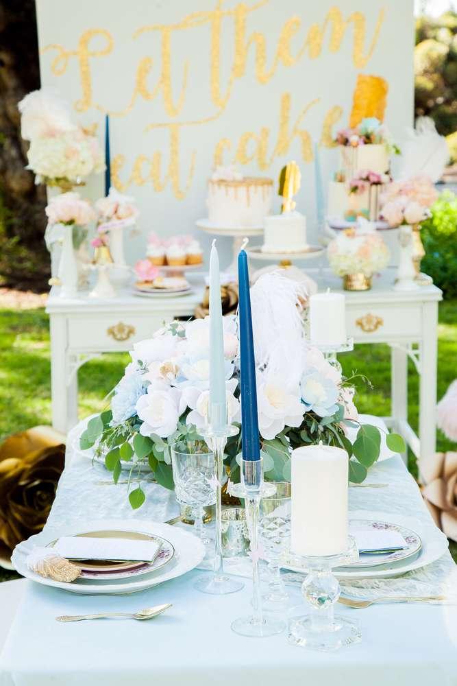 Let Them Eat Cake Shower  Bridal Shower Ideas  Themes