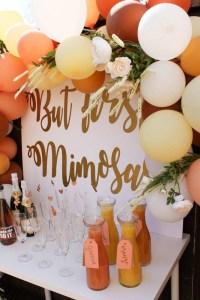 Morning Mimosa Bridal Shower - Bridal Shower Ideas - Themes