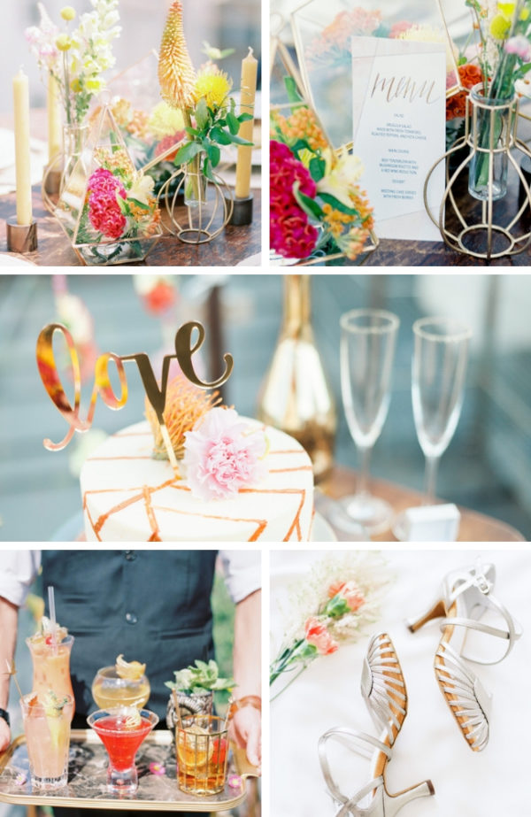blooming rooftop bridal shower