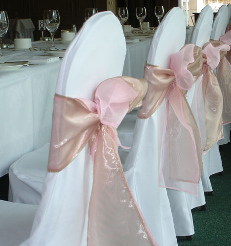 chair cover decorations for wedding blue accent with ottoman bride ca reception decor covers 101 and your budget