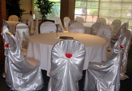 dining chair covers edmonton fishing second hand bride ca wedding reception decor 101 they work on stacking banquet chairs as well many folding and oversized even those high back at chinese restaurants