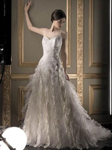 brideca  Wedding Fashion Trends 2010 Ruffles