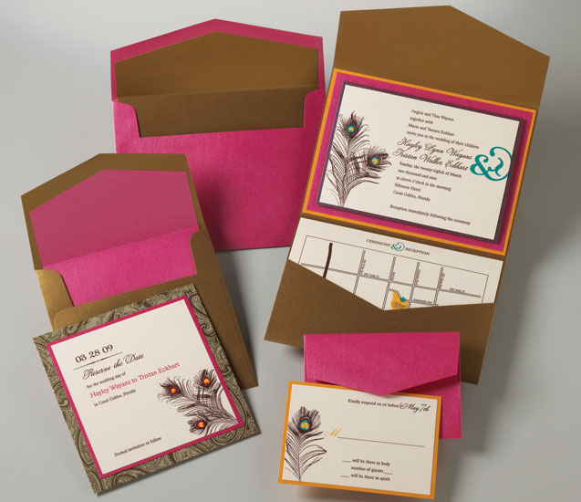 brideca  Featured DIY Wedding Invitations by Timeless Celebration
