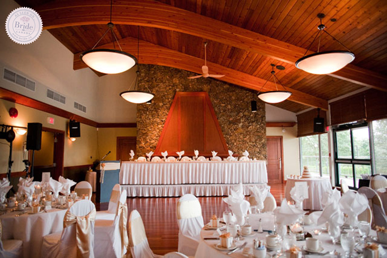 wedding chair covers kingston harmony ryze pedestal high candy green bride ca 7 great golf venues in greater vancouver