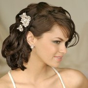 bridal hairdos long hiar