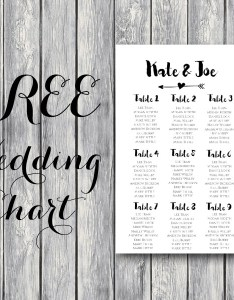 Wedding seating chart template free printable also juve cenitdelacabrera rh
