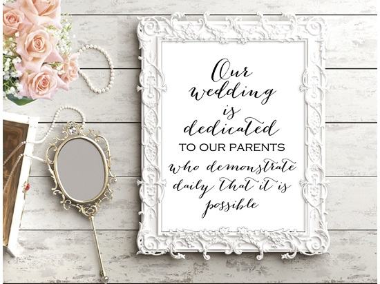 photograph regarding Wedding Sign Printable called Obtain Stylish Wedding ceremony Indicator Printables