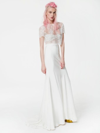 Current Favourite Trend - Wedding Separates | British wedding blog - Bride and Tonic