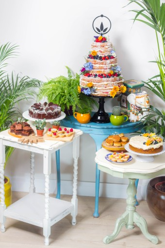We Love: Bohemian, Original and Alternative Cakes from The Boho Bakery | British wedding blog - Bride and Tonic