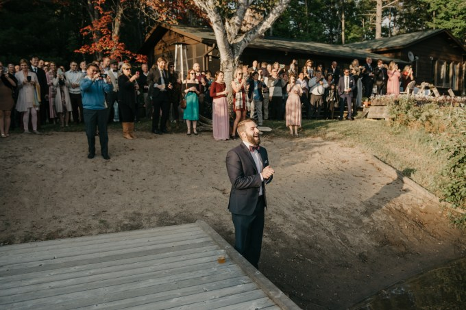 A Homespun Natural Wedding in the Canadian Wilderness // Teri + Keith | British wedding blog - Bride and Tonic