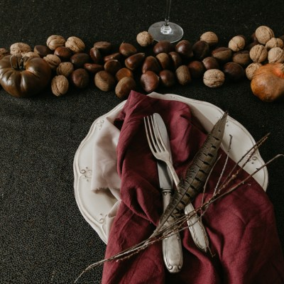 Being An Ethical Bride: Creating a Festive, Wintry Table