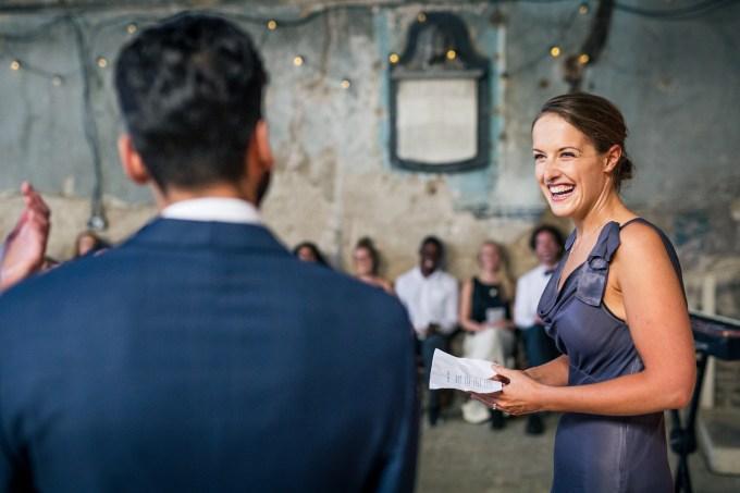 A Floral Filled London Warehouse Wedding // Heidi + Keon | British wedding blog - Bride and Tonic