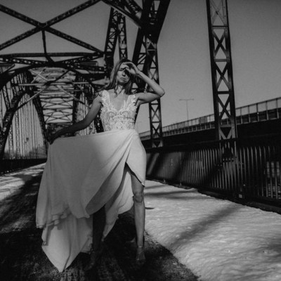 Styled Shoot || Black and White Ain't Dead