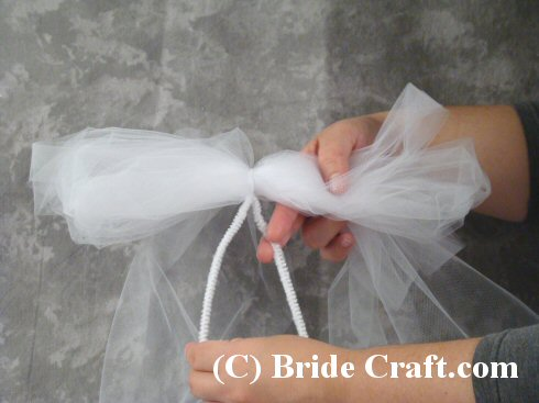 Tulle Pew Bow
