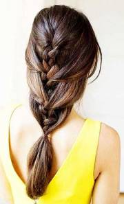 style hair with simple