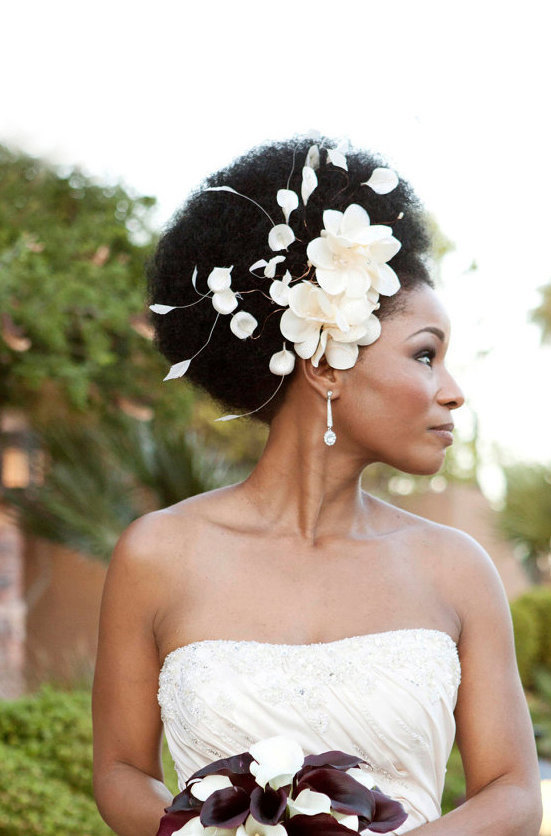 How To Wear An Afro On Your Wedding Day Bride Of Colour Wedding Blog