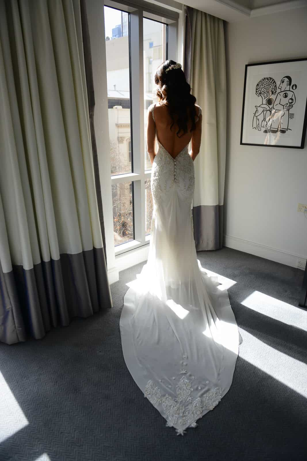 Emily Simms Melbourne Wedding Photos Wedding Dress