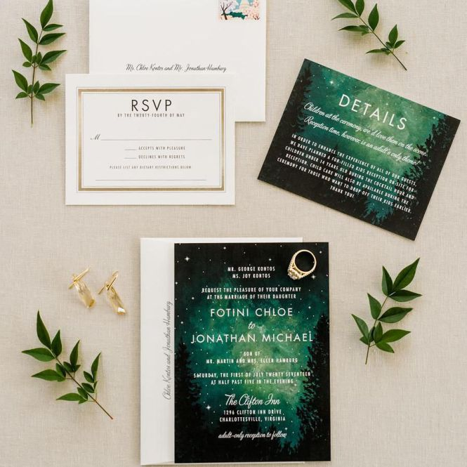 30 Creative Wedding Invitations For Every Style Of Celebration