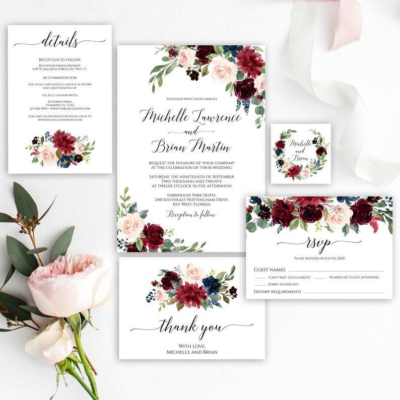 diy wedding invitations how to print