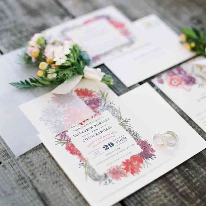 Wondering What To Include In A Wedding Invitation Suite