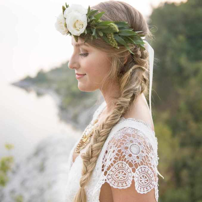 what all brides-to-be should know about clip-in hair extensions