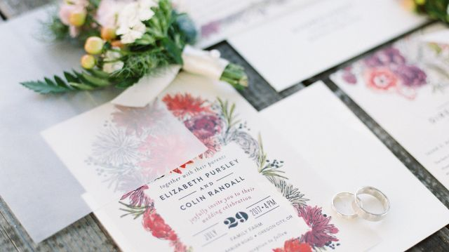 What to Include in a Wedding Invitation Suite