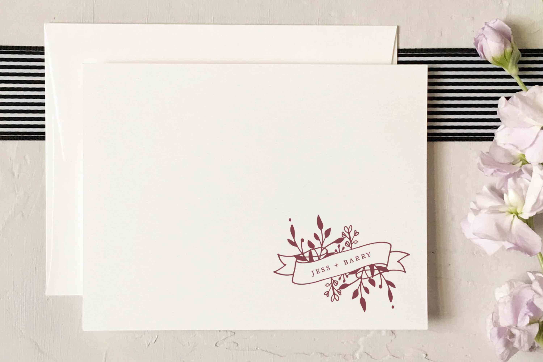 13 personalized wedding stationery