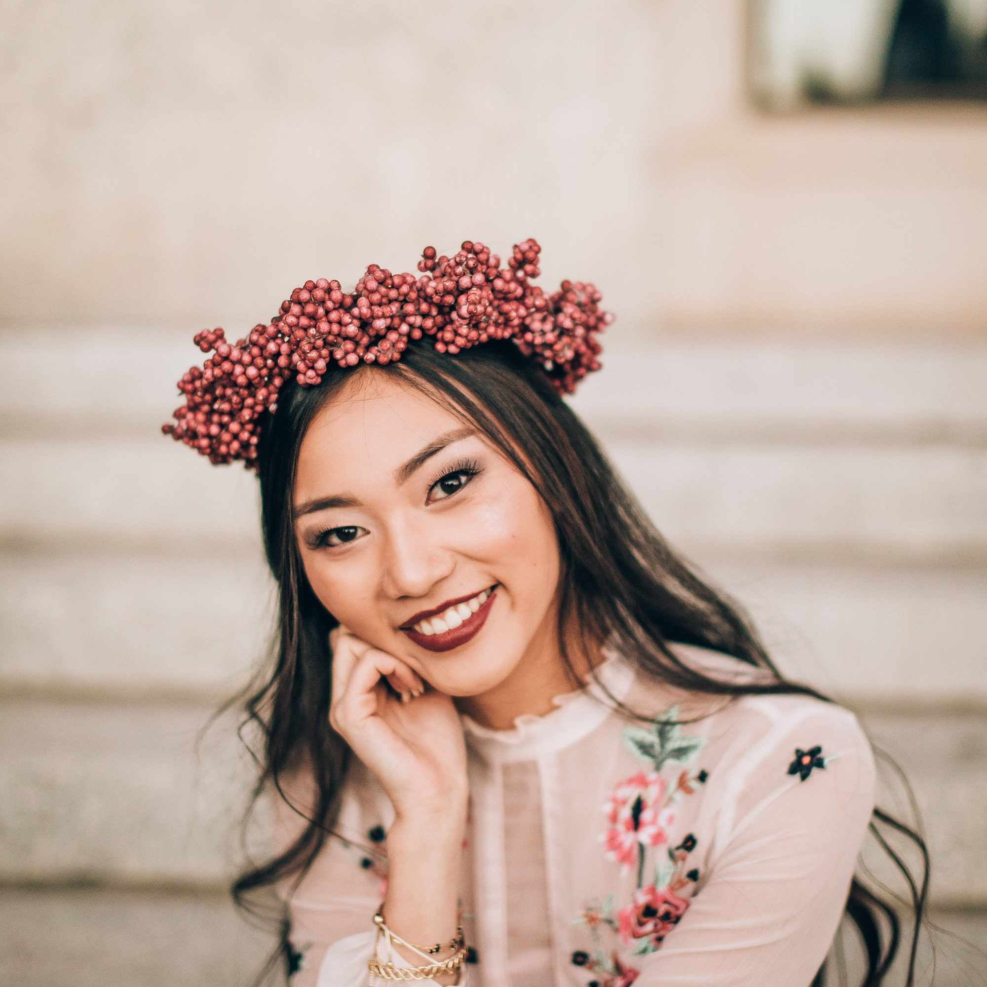 15 seasonal flower crowns