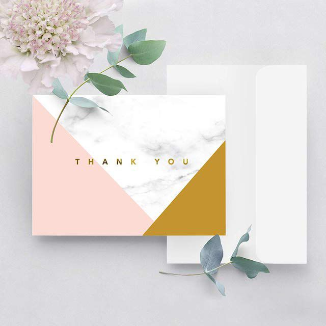 The 26 Best Wedding Thank You Notes Of 2020