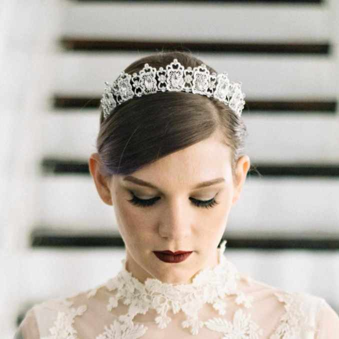 10 of our favorite etsy shops for bridal hair accessories