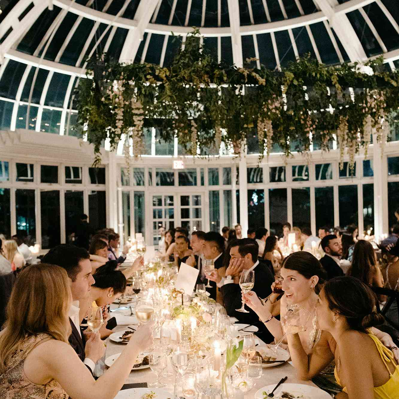 Easily reached by public transportation or car, the garden provides stunning settings and tranquil spaces for your private and corporate events. A Summer Wedding At The Brooklyn Botanic Garden