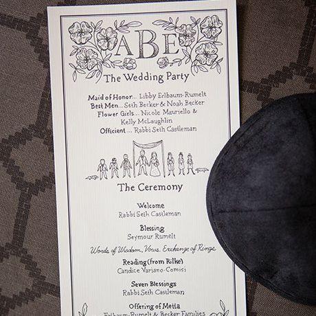 32 wedding ceremony programs