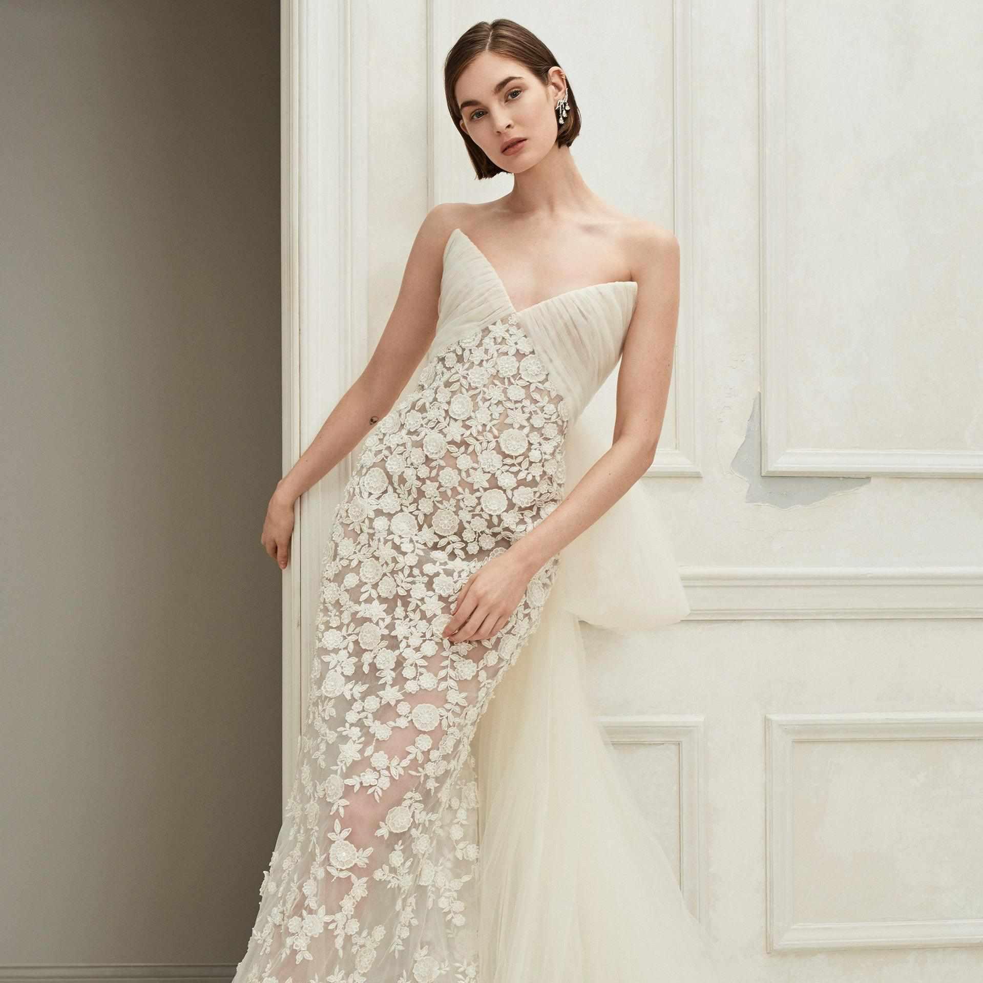 28 floral wedding dresses